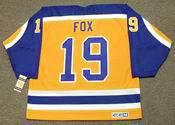JIM FOX Los Angeles Kings 1984 CCM Vintage Home NHL Hockey Jersey