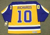 MIKE RICHARDS Los Angeles Kings 1980&#039;s CCM Vintage Throwback NHL Hockey Jersey