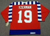 "STEVE YZERMAN 1992 Campbell ""All Star"" CCM Vintage NHL Jersey"