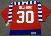 "ED BELFOUR 1992 Campbell ""All Star"" CCM Vintage NHL Jersey"