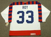 "PATRICK ROY 1992 Wales ""All Star"" CCM Vintage NHL Jersey"