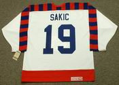 "JOE SAKIC 1992 Wales ""All Star"" CCM Vintage NHL Jersey"