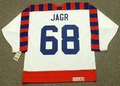 "JAROMIR JAGR 1992 Wales ""All Star"" CCM Vintage NHL Jersey"