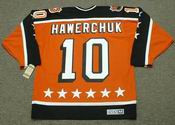 "DALE HAWERCHUK 1984 Campbell ""All Star"" CCM Vintage Throwback NHL Hockey Jersey"