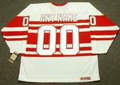 "DETROIT RED WINGS 1940's CCM Vintage Jersey Customized ""Any Name & Number(s)"""
