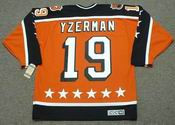 STEVE YZERMAN 1984 Campbell &quot;All Star&quot; CCM Vintage Throwback NHL Hockey Jersey