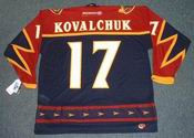 ILYA KOVALCHUK Atlanta Thrashers 2001 CCM Throwback NHL Hockey Jersey