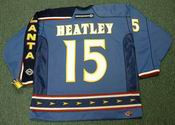DANY HEATLEY Atlanta Thrashers 2003 CCM Throwback NHL Hockey Jersey