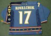 ILYA KOVALCHUK Atlanta Thrashers 2003 CCM Throwback NHL Hockey Jersey