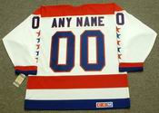 "WASHINGTON CAPITALS 1980's CCM Vintage Home NHL Jersey Customized ""Any Name & Number(s)"""