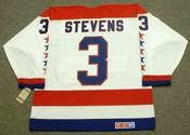 SCOTT STEVENS Washington Capitals 1988 CCM Vintage Throwback Home NHL Jersey
