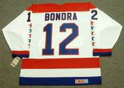 PETER BONDRA Washington Capitals 1990 CCM Vintage Throwback Home NHL Jersey