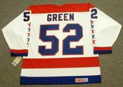 MIKE GREEN Washington Capitals CCM Vintage Throwback Home NHL Jersey