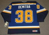 PAVOL DEMITRA St. Louis Blues 1998 CCM Throwback NHL Jersey