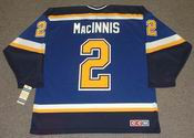AL MacINNIS St. Louis Blues 2003 CCM Throwback NHL Jersey