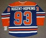 RYAN NUGENT-HOPKINS Edmonton Oilers REEBOK Home NHL Hockey Jersey