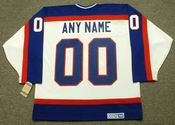 "WINNIPEG JETS 1980's CCM Vintage Home Jersey Customized ""Any Name & Number(s)"""