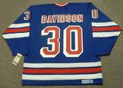 JOHN DAVIDSON New York Rangers 1980 CCM Vintage Throwback NHL Hockey Jersey