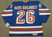 DAVE MALONEY New York Rangers 1979 CCM Vintage Throwback NHL Hockey Jersey