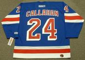 "RYAN CALLAHAN New York Rangers 2006 CCM ""Rookie"" Home NHL Jersey"