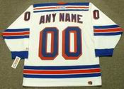 "NEW YORK RANGERS 1990's CCM Throwback Home Jersey Customized ""Any Name & Number(s)"""