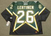 JERE LEHTINEN Dallas Stars 1999 CCM Throwback NHL Jersey