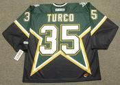 MARTY TURCO Dallas Stars 2003 CCM Throwback NHL Hockey Jersey