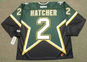 DERIAN HATCHER Dallas Stars 1999 CCM Throwback NHL Jersey