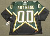 "DALLAS STARS 1990's CCM Throwback Jersey Customized ""Any Name & Number(s)"""