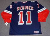 MARK MESSIER New York Rangers 1996 CCM Throwback Alternate NHL Jersey