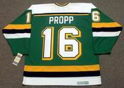 BRIAN PROPP Minnesota North Stars 1990 CCM Vintage Throwback NHL Jersey
