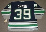 KELLY CHASE Hartford Whalers 1995 CCM Vintage Throwback NHL Jersey