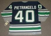 FRANK PIETRANGELO Hartford Whalers 1992 CCM Vintage Throwback NHL Jersey