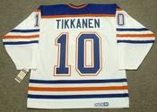 ESA TIKKANEN Edmonton Oilers 1987 CCM Vintage Throwback Home NHL Jersey