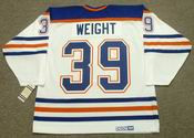 DOUG WEIGHT Edmonton Oilers 1995 CCM Vintage Throwback Home NHL Jersey