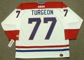 PIERRE TURGEON Montreal Canadiens 1996 CCM Throwback Home NHL Jersey
