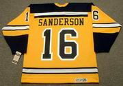 DEREK SANDERSON Boston Bruins 1960's CCM Vintage Throwback NHL Jersey