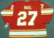 ERIC VAIL Atlanta Flames 1977 CCM Vintage Throwback Away NHL Hockey Jersey