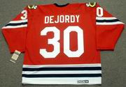 DENIS DEJORDY Chicago Blackhawks 1963 CCM Vintage Throwback NHL Jersey
