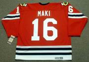 CHICO MAKI Chicago Blackhawks 1963 CCM Vintage Throwback NHL Jersey