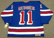 MARK MESSIER New York Rangers 1990's CCM Vintage Throwback NHL Hockey Jersey