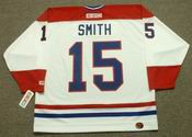 BOBBY SMITH Montreal Canadiens 1986 CCM Throwback Home NHL Jersey