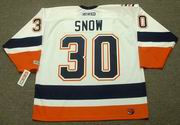 GARTH SNOW New York Islanders 2002 CCM Throwback Home NHL Jersey