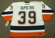 RICK DiPIETRO New York Islanders 2003 CCM Throwback Home NHL Jersey
