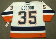 CHRIS OSGOOD New York Islanders 2001 CCM Throwback Home NHL Jersey