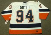 RYAN SMYTH New York Islanders 2006 CCM Throwback Home NHL Jersey