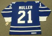 KIRK MULLER Toronto Maple Leafs 1996 CCM Vintage Throwback NHL Jersey