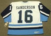 DEREK SANDERSON Pittsburgh Penguins 1977 CCM Vintage Throwback NHL Jersey