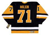 EVGENI MALKIN Pittsburgh Penguins 1990's CCM Vintage Throwback NHL Hockey Jersey