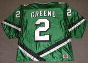 MATT GREENE North Dakota Fighting Sioux 2004 NCAA Hockey Jersey